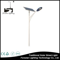 Indicatore luminoso di via solare del gel del dispositivo della lega di alluminio di RoHS 30W LED del Ce