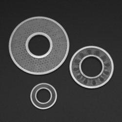 Einzelne Edelstahl-Maschendraht-Filter-Platte des doppelte Schicht-Ring-304