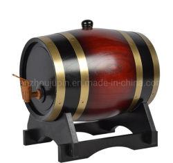OEM 3 литр деревянных цилиндра экструдера дуба вина цилиндра экструдера