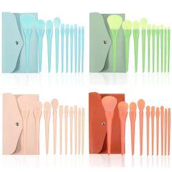 10 Pack de produtos de beleza da escova nova escova integrado de cores misturadas doce em pó Olho da escova Escova Conjunto Completo