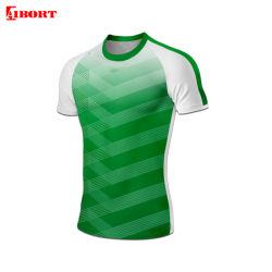 Aibort kundenspezifisches Sportkleidung-Sublimation-Drucken-Polyester-Rugby Jersey (N-RJ12)