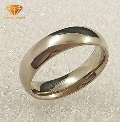 Venda por grosso de jóias de prata Jóias de Aço Inoxidável G23 Banda de casamento de titânio TR2028