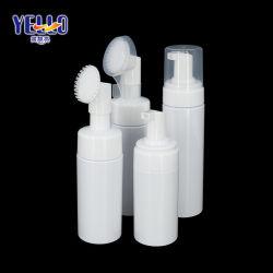 Skincare 실리콘 솔을%s 가진 포장 백색 플라스틱 100ml 120ml 150ml 거품 펌프 병