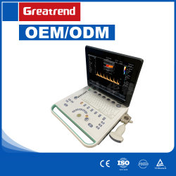 Apparecchio medico approvato dello scanner di ultrasuono di Doppler di colore del computer portatile del Ce