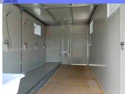 غرفة قابلة للنقل 20 قدمًا مع حوض استحمام قابل للتعديل