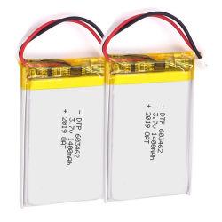 携帯用衛星のための3.7V 1400mAh Vape電池603462