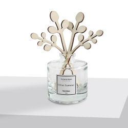 Diffusore di vendita caldo della canna dell'aroma dei fornitori del diffusore della canna della bottiglia di vetro 200ml