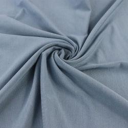 Jersey elástico de algodón peinado, tejido de ganchillo 40 s.