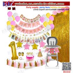 Venda por grosso de novidade festa de aniversário de Alimentação Festa de Natal Dom Holiday Home decoração (B1102)
