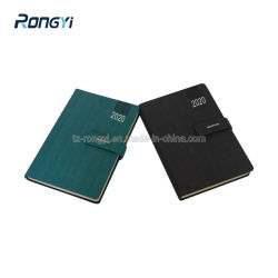 الكمبيوتر الدفتري الأسود والأزرق المخروطي مع غطاء صلب PU
