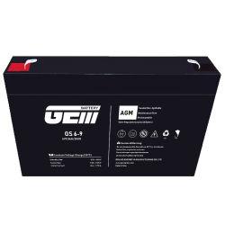 6V 9 AH GEM аккумуляторные батареи аккумуляторная батарея типа VRLA для различных представляет собой
