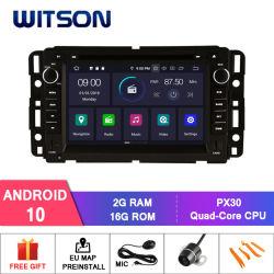 Witson Android 10 DVD GPS для Gmc Yukon/пригородные/Тахоэ/Парк Акадия встроенная функция цифрового видеорегистратора с внешней камеры