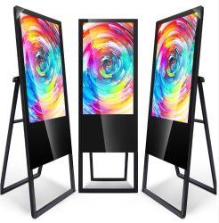 43 inch draagbare Kiosk-winkelcentrum of restaurant-reclame-LCD Weergave