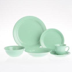 6pcs vert clair de la porcelaine Vaisselle en céramique en Chine