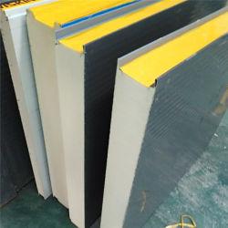 PIR полиуретан Indusulated оцинкованный цвет стальной пластины крыши Сэндвич панели