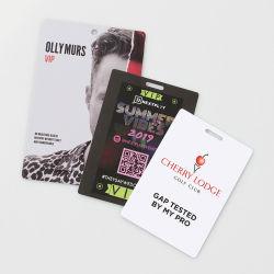 Logo Design personnalisé Photo Business PVC ID de carte en plastique
