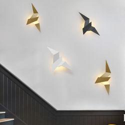 LED nórdicos Bird candeeiros de parede decoração do quarto Apliques Piscina Bird candeeiro de parede (WH-OU-97)
