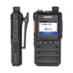 Inrico T640A LTE/WCDMA/GSM/WiFi de la red pública de radio inalámbrica Reapter Walkie Talkie de Dos Vías 4000mAh