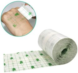 PU de alta calidad impermeable transparente tatuaje elástico venda adhesiva cuidado