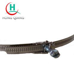 Le collier de flexible à libération rapide du matériel de ventilation collier de serrage des fixations du tuyau en acier inoxydable