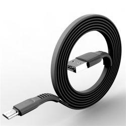 Commerce de gros chargement rapide plat câble micro USB pour téléphone mobile