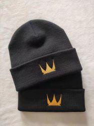 Venda por grosso de Inverno de acrílico de Hat Custom Beanie bordados