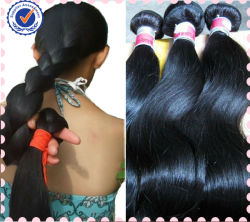 Салон красоты с возможностью горячей замены 100% прав необработанные Virgin бразильский волос