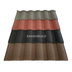 ローマの虹の設計 Prepainted 鋼鉄屋根ふきのシート中国の石の細粒 金属屋根( Metal Roof )の場合
