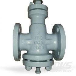 역압 균형 윤활 플러그 밸브 2인치 150lb