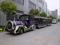 Tren Eléctrico Trackless atracciones para Parques, Centro comercial