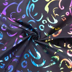 T400 de tafetá Seda Planície de algodão tingidos de Outono Inverno Casaco Cotton-Padded Windbreaker Fabric