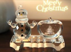 Bello Promotional Crystal Craft per Christmas Gift (ks25211)