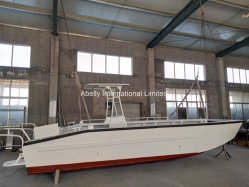 Tous les personnalisé 7,5 m en aluminium soudé de péniches de débarquement