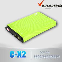 C-X2 Bateria de telefone celular para Bb 8800