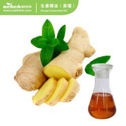 Essentiële Olie van de Gember van de Extractie van Co2 van de essentiële Olie de Overkritische voor de Voordelen van de Massage