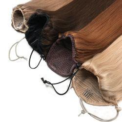Venda por grosso de extensões de cabelo Itip Virgem queratina cutícula, cabelos alinhados sacadas Remy Itip duplo de cabelo humano