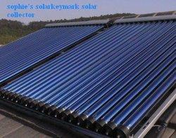 300L屋上の真空管の太陽電池パネルのコレクター