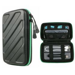 Поездки прибора электроника Аксессуары для серии EVA для хранения кабеля Gadget Bag кабель USB случае органайзера