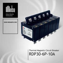 Meba Cortacircuitos magnéticos hidráulica/MCB (RDP30-6P-10A)