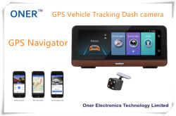 Auto GPS Navigator avec la came de tableau de bord intégré