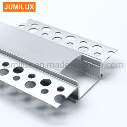 Gesso em perfil de alumínio LED Trimless para luz de LED