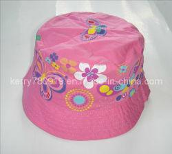 子供の方法花の綿の帽子(DH-LH61625)