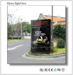 LED Screen Display를 가진 서 있는 Scrolling Light Box Mobile Posters