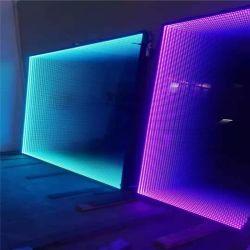 2400*3200 mm de tamaño jumbo personalizados decorativos en 3D Magic túnel infinito Espejo para bares