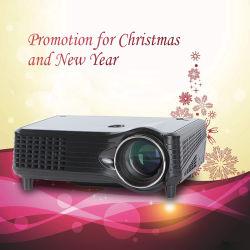 Подарок Chirstmas поощрения светодиодный проектор для домашнего кинотеатра с HDMI