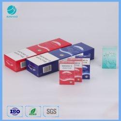 Personalizar el cartón de cigarrillos Caja de cartón de papel caja redonda con esquinas cuadradas