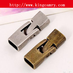 Agrafe de verrouillage d'agrafe de boucle de dispositif de fixation pour la courroie ou le bracelet à chaînes