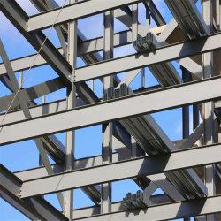 Portail de la lumière de référence de châssis en acier préfabriqués Customerized Fabrication pour toiture structurelle