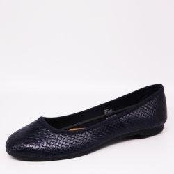 Schoenen van de Vrije tijd Sandals van de Schoenen van de Ballerina van dame Woven PU Leer de Vlakke