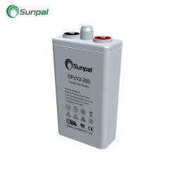 Использование солнечной энергии хранение аккумулятора гель глубокую бесплатно Opzv 2V 200 Ач, 800 Ач 1000ah